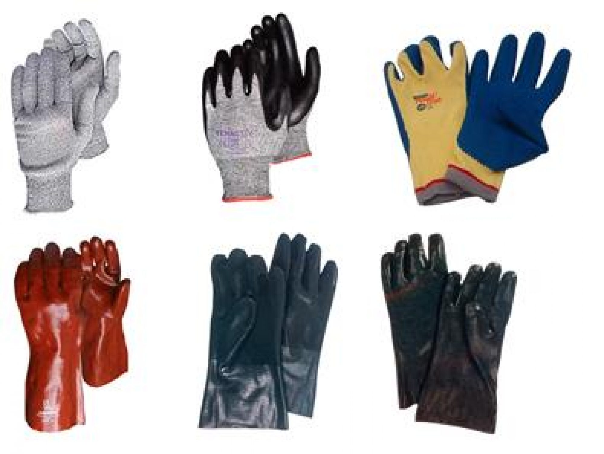 The codex of coated knitting gloves.